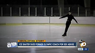 Ice skater sues former Olympic coach for sex abuse