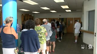 Palm Beach County school employees age 50 and older receive COVID-19 vaccine