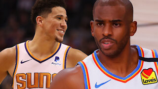 Devin Booker And Chris Paul Looking To Pair Up As Suns Plan To Make BIG Trade