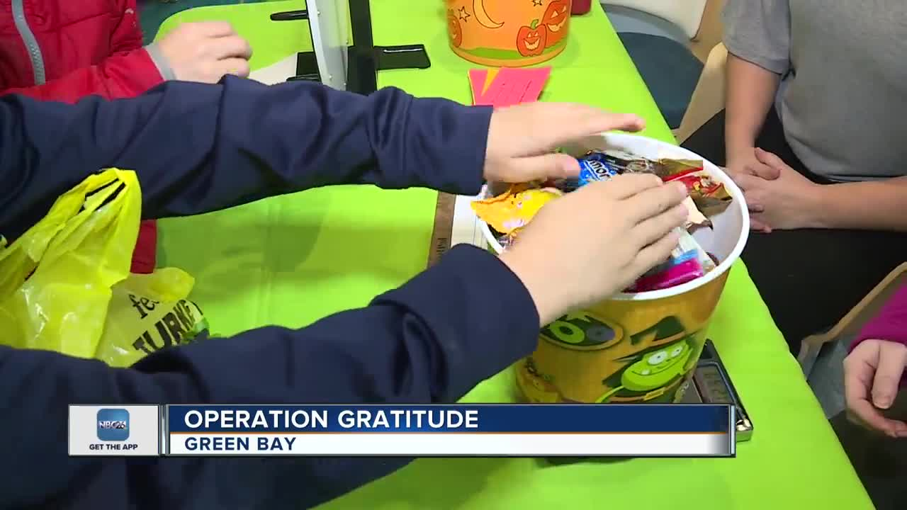 Operation Gratitude accepting donations for Halloween Candy Give-Back