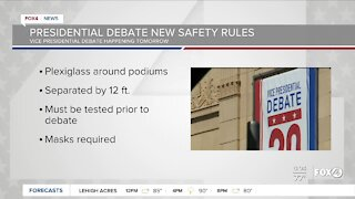 Presidentail debate new safety rules