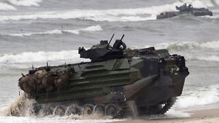One Marine Dead, 8 Missing After Vehicle Sinks Off California Coast