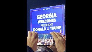 My First Trump Rally Valdosta GA