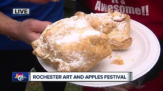 We're in Rochester for the Arts and Apples festival