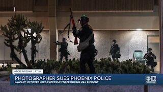 Phoenix photographer suing Phoenix police