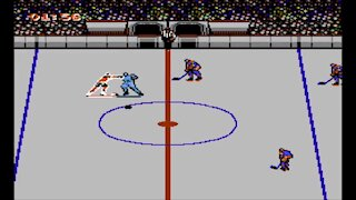 Blades of Steel 1987 NES (Gameplay)