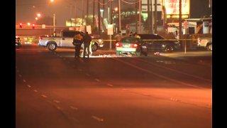 Las Vegas police investigate critical crash involving pedestrian on Boulder Highway
