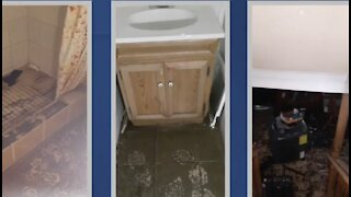 Cleanup efforts continue for residents affected by major flooding in Wayne County