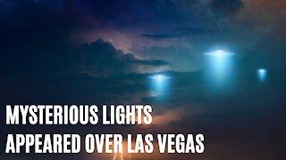 Mysterious Strange Lights Appeared Over Las Vegas Skies Last Night