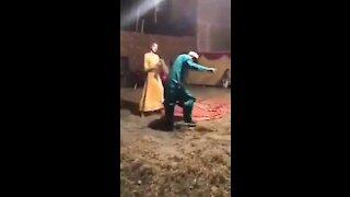 Funny Dance at Wedding