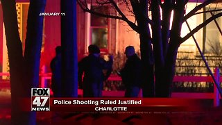 Charlotte officer shooting justified, woman charged with 4 felonies