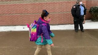 Buffalo Public Schools welcome some students back