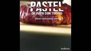 Potato Cake with Bacon