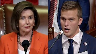 Rep. Madison Cawthorn Calls Out Speaker Nancy Pelosi