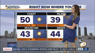 10News Pinpoint Weather with Jennifer