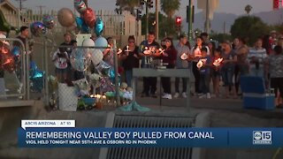 Remembering Valley boy pulled from canal in Phoenix