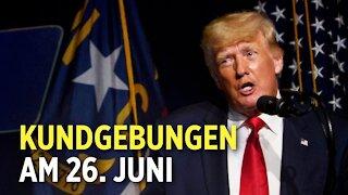 Ex-US-Präsident Trump tritt wieder öffentlich auf