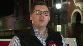 Jake LaTurner speaks shortly after polls close