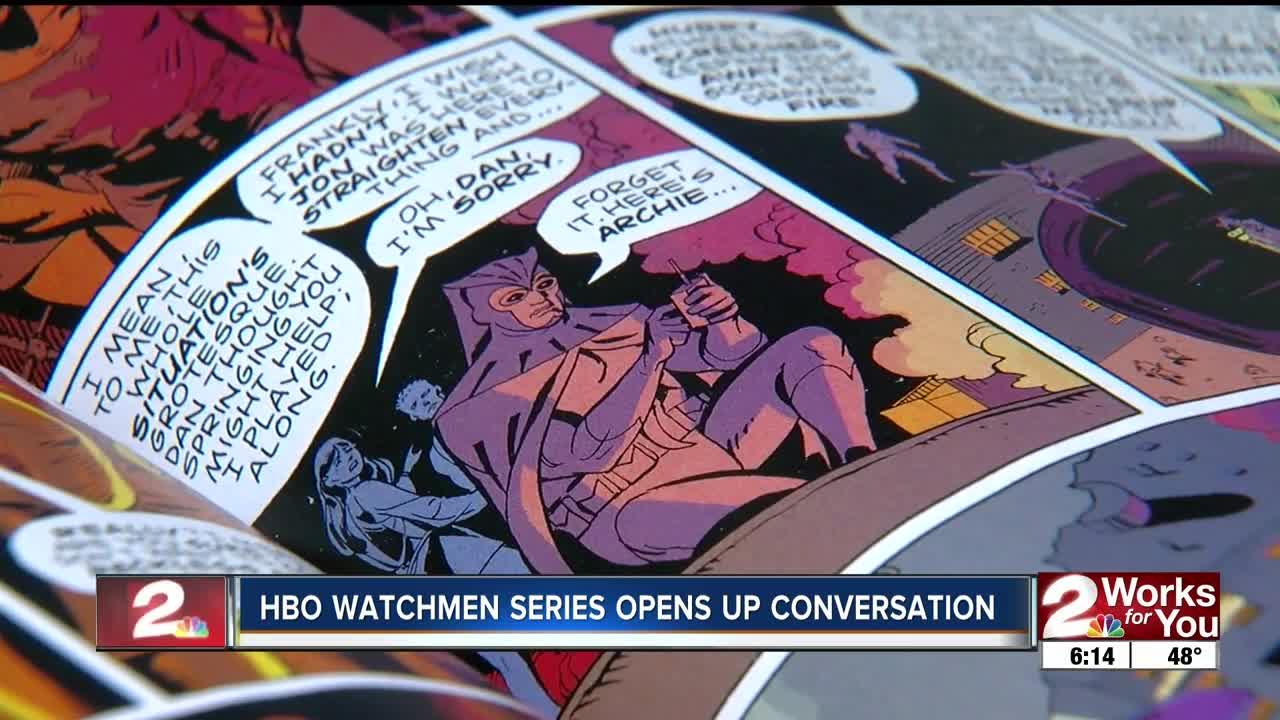 HBO WATCHMEN SERIES OPENS UP CONVERSATION