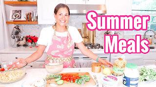 3 Summer Meals