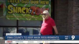 Pima County: Mask mandate still in place