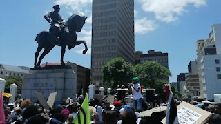 SOUTH AFRICA - Cape Town - SJC Protest Performing Art (Video) (WXc)