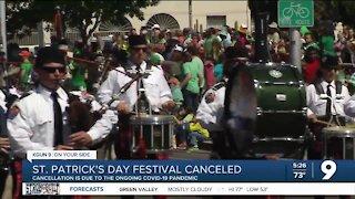 Tucson St. Patrick's Day Parade & Festival 2021 canceled
