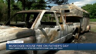 Family asking for help after fire destroyed home, cars, and tools