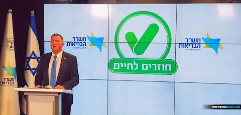 ISRAEL LAUNCHES THEIR QR CODE, COVID 19 DIGITAL VACCINATION PASSPORT