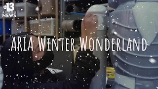Winter Wonderland at the ARIA hotel-casino