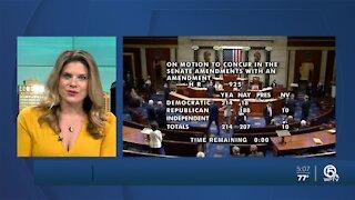 House Democrats pass partisan COVID bill