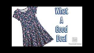 Reviewing dress from Burlington
