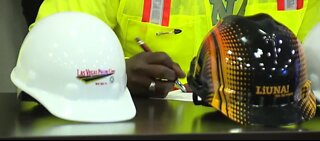 Clark County students working construction after graduation