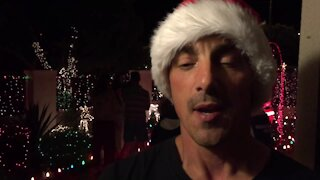 South Africa - Cape Town - Fish Hoek Christmas Lights (Video) (BLn)