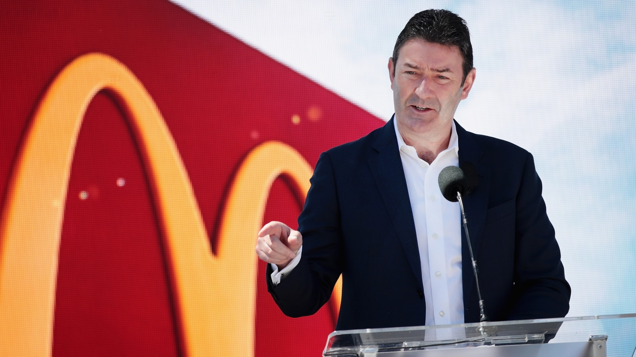 McDonald's CEO Is Out Over Relationship With Employee