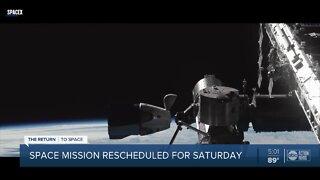 Bad weather postpones historic launch