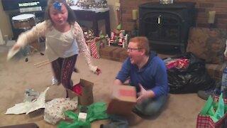 Kids Open Presents