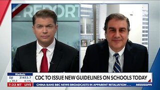 CDC TO ISSUE NEW GUIDELINES ON SCHOOL TODAY