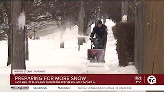Metro Detroit preparing for more snow