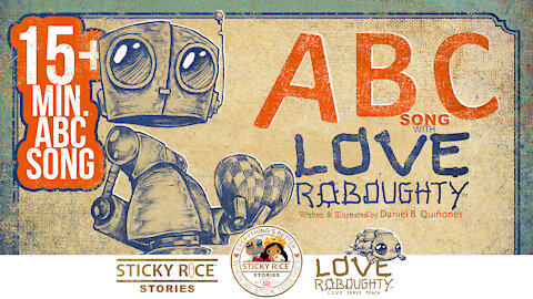Learn the ABCs with your favorite robot Love Roboughty - 4k official video