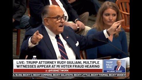 Giuliani gets savage in Michigan 🔥