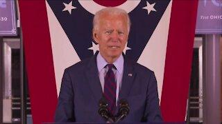 Joe Biden delivers remarks at Union Terminal
