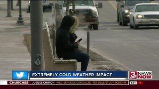 Frigid temperatures impact metro residents