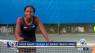 Coco Gauff to play at Delray Beach Open