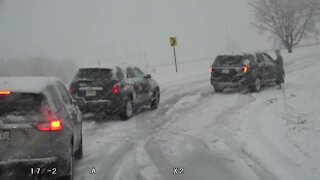 Driving conditions deteriorate in Tulsa