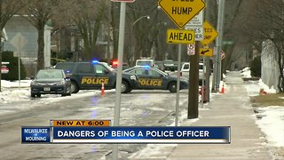 Dangers of being a police officer in Milwaukee