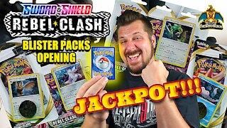 Rebel Clash Blister Packs   Pokemon Cards Opening