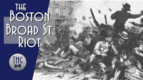 The Boston Broad Street Riot of 1837