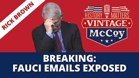 BREAKING: FAUCI EMAILS EXPOSED