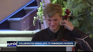 Therapy through arts for people with Parkinson's